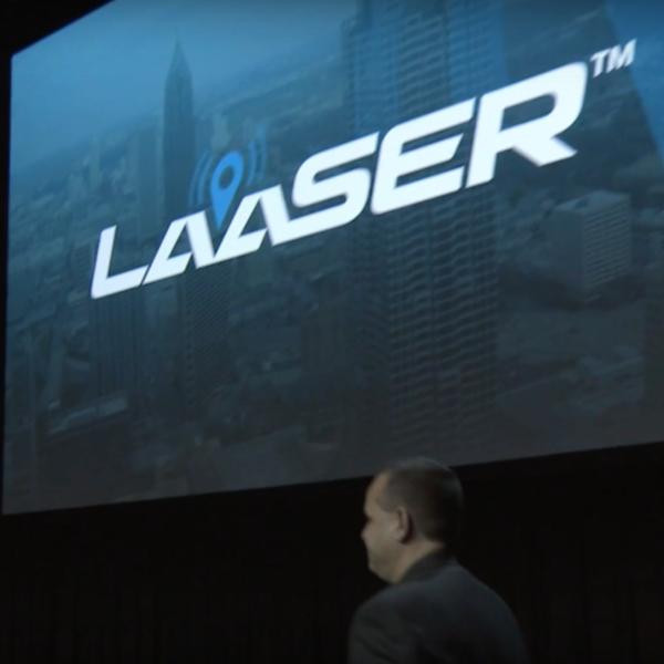 LaaSer presents at Techstars Atlanta Inaugural Demo Day